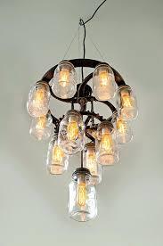 chandeliers mason jar chandelier 3 tier industrial cast iron gears zoom outdoor diy