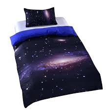 hipster galaxy bedding set universe outer space themed print sheets twin single double full bedspread ga image of space bedding