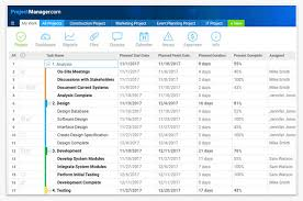 Project Planning Software Projectmanager Com