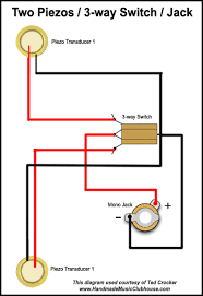 piezo wiring diagrams advanced piezo wiring diagram