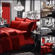 details about crushed velvet bedding set luxury duvet cover single double king super king size