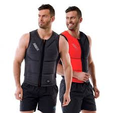 Jobe Vest Size Chart Jobe Reversible Impact Vest Men Red Grey Water Motion