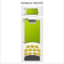 Franklin Theatre 2019 Seating Chart