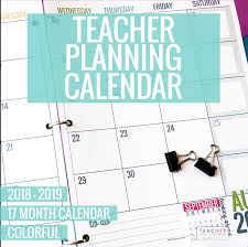 School Calendar 2015 2019 Template Free Printable Monthly Calendars For Teachers Free 2015 Printable