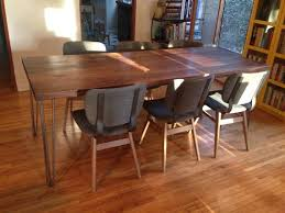Hairpin dining table Flynn Hairpin Hairpin Leg Dining Table Pinterest Hairpin Leg Dining Table Bali Dining Table Table Walnut Dining