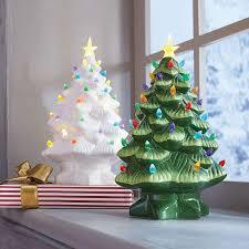 Ceramic Christmas Tree With Bird Lights Vintage Ceramic Christmas Trees Are Back Heres Where To