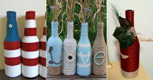 How To Use Old Bottles For Decoration 100 Creative Ways to Use an Old Bottle 2