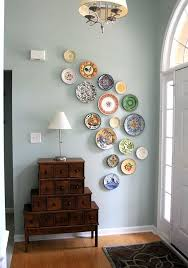 how to hang plates on a wall to create an eye catching look photo details