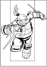Ninja Turtles Coloring Pages Nickelodeon Teenage Mutant Ninja