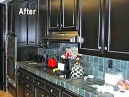 kitchens with painted black cabinets.  Kitchens Painting Kitchen Cabinets Black Home Design Plan Cabinet Paint  Exquisite Painted Before  Throughout Kitchens With Painted Black Cabinets