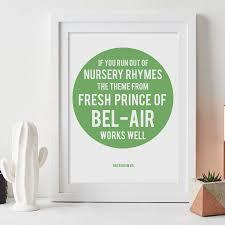 Dad Wisdom Personalised Quote Print
