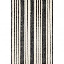 dash albert birmingham black woven cotton rug