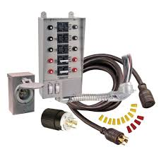 reliance controls 30 amp 10 circuit manual transfer switch kit 30 amp 10 circuit manual transfer switch kit