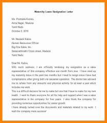 Sample Maternity Leave Letter Employer Military Bralicious Co