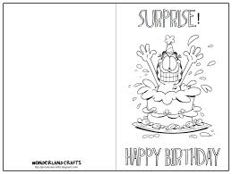 Online Printable Birthday Cards Printable Birthday Cards In Black And White Free Printables
