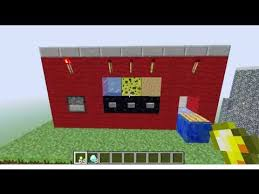 How To Build A Vending Machine In Minecraft Interesting Minecraft Vending Machine And Trading Post YouTube