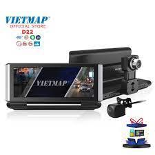 Camera Hành Trình VIETMAP D22 - Android- Định Vị Xe- Dẫn Đường S1- Phát  Wifi- Truyền Video Online- Adas- Ghi Hình Kép - Camera hành trình - Action camera  và phụ kiện