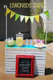 15 Beautiful lemonade stand designs  a great symbol of summer