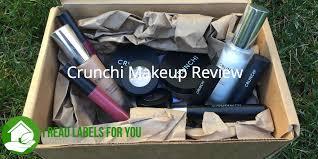 crunchi non toxic makeup review