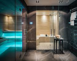 Home Steam Shower Design Private Sauna And Steam Room In The Netherlands Designed By