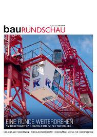 Baurundschau 0219 By Rundschaumedien Ag Issuu