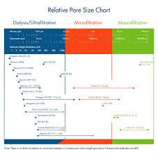 Filter Membrane Compatibility Chart Pore Size Chart Repligen