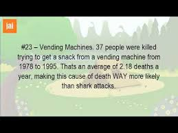 How Many Deaths A Year From Vending Machines Extraordinary How Many People Have Been Killed By Vending Machines YouTube