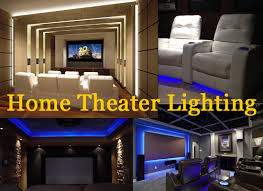lighting for home theater. Home Theater Lighting Tips For