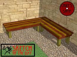 corner deck bench plans wooden pdf carport plans qld