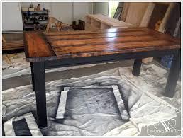 Large Farmhouse Kitchen Table Bench Farmhouse Kitchen Table With Bench With Staggering Fresh