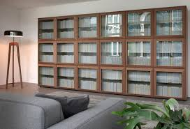 attractive library bookcase with glass doors elegant regarding house bookcases intended for 17