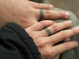 55 wedding ring tattoo designs & meanings true commitment (2017) Wedding Ring Finger Guys wedding ring tattoo wedding ring finger swelling
