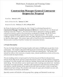 Bid Proposal Letter Plumbing Proposal Template Warexone Info