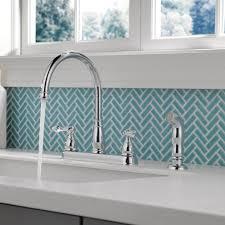 Older Delta Kitchen Faucets Delta Windemere Double Handle Standard Kitchen Faucet Reviews
