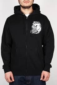 <b>Толстовка MISHKA</b> Osaka Simon Zip Up Hoodie (Black, L ...