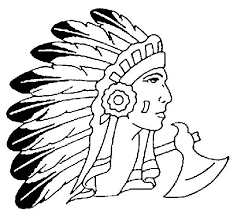 Small Picture 44 best Coloring Pages for Northside Indians images on Pinterest