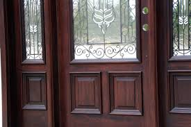 Front Doors With Wrought Iron And Glass - Iron exterior door