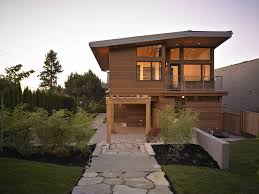 Modern Prefab Cabin Exclusive Modern Wooden Home Prefab Design Featuring Two Parts