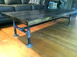 diy pipe furniture pipe leg coffee table galvanized pipe table plumbing pipe furniture coffee plumbing pipe