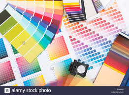 Spectrum Graphic Design Colour Spectrum Of Swatches As Used By A Graphic Designer Or