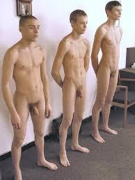 Gay military nude exams