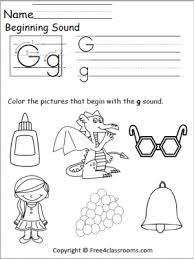 Practice uppercase letter g recognition and basic phonics with this alphabet worksheet. Phonics Archives Free And No Login Free4classrooms