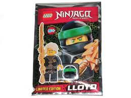 LEGO® Ninjago - Lloyd Wu Cru with Dragon Sword and Tassel - The Brick People