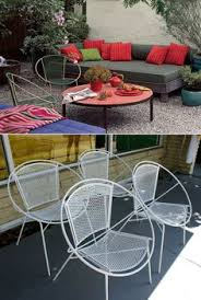 iron patio furniture. White Salterini Hoop Patio Chairs Are From Etsy. Iron Furniture