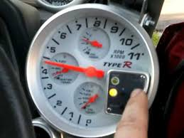 at racing world in tachometer recall shift light