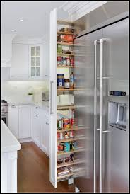 Narrow Pull Out Pantry Cabinet