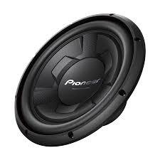 pioneer speakers subwoofer. pioneer 1300 watt 12 inch single 4-ohm car audio subwoofer, black | ts speakers subwoofer l