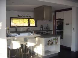 Cuisine Avec Ilot Central Arrondi Maison Design Bahbe Com