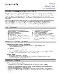 Polymer Engineer Sample Resume