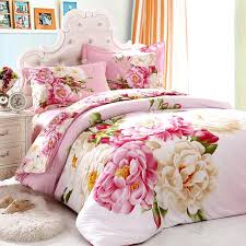 bright ideas fl comforter sets queen black white and pink bedding incredible set full bed flowers girls